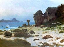 Bay of Monterey - Albert Bierstadt