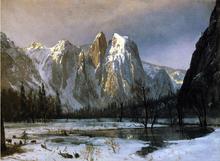 Cathedral Rocks, Yosemite Valley, California