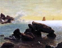 Farralon Islands, California - Albert Bierstadt