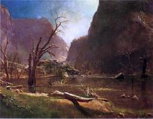 Hatch-Hatchy Valley, California - Albert Bierstadt