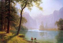 Kern River Valley, California - Albert Bierstadt