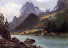 Mountain Lakes Paintings