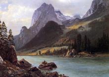 Mountain Lakes Paintings
