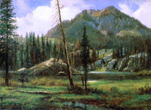 American Landscapes Paintings