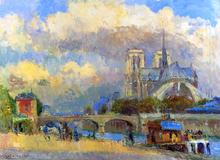 Notre Dame de Paris - Albert Lebourg