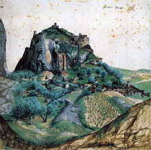 View of Arco - Albrecht Durer