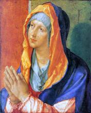 Virgin Mary in Prayer