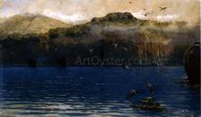 Herons along the Amalfi Coast - Alceste Campriani