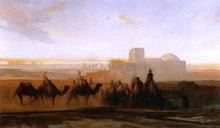The Caravan - Alexandre Gabriel Decamps