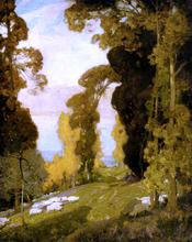 Lake Bourget From Mount Revard, Savoy