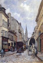 La Grand Rue, Argenteuil - Alfred Sisley