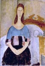 Jeanne Hebuterne, Seated