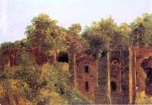 Ruins on the Palatine Hill - Andre Giroux