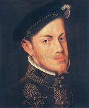 Portrait of the Philip II, King of Spain
