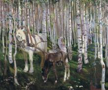 In the Forest - Arkady Alexandrovich Rylov