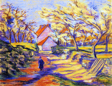 In the Countryside - Armand Guillaumin