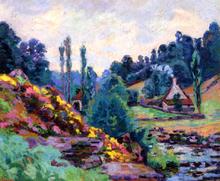 Le Moulin de Jonon Creuse - Armand Guillaumin