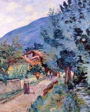 Rue de la Scierie - Pontcharra - Armand Guillaumin