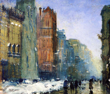 Fifth Avenue, New York - Arthur Clifton Goodwin