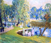Public Garden, Boston - Arthur Clifton Goodwin