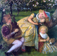 A King's Orchard (study)