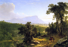 Landscape - Composition: In the Catskills - Asher Brown Durand