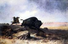 Buffalo Hunt - Astley Montague Cooper