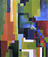 Colored Forms II - August Macke