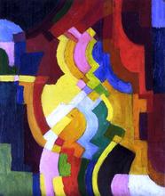 Farbige Formen III - August Macke