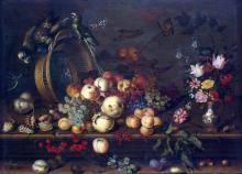 Still-Life with Fruits, Shells and Insects - Balthasar Van der Ast