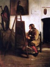 Young Painter in his Studio - Barent Fabritius