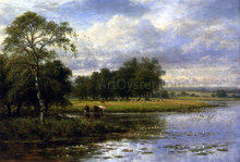 Summer Time on the Thames - Benjamin Williams Leader
