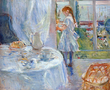 A Cottage Interior (also known as Interior at Jersey) - Berthe Morisot