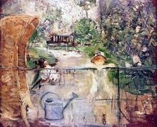 The Basket Chair - Berthe Morisot