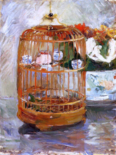 The Cage - Berthe Morisot