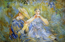The Flageolet - Berthe Morisot