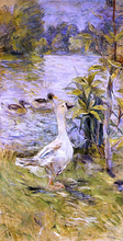 A Goose - Berthe Morisot