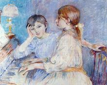 A Piano - Berthe Morisot