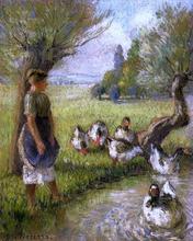 Goose Girl - Camille Pissarro