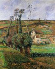 La Cote de 'Chou' a Pontoise - Camille Pissarro