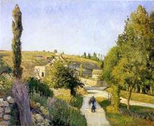 A Landscape at l'Hermitage, Pontoise