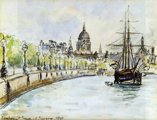 London, St. Paul's Cathedral - Camille Pissarro