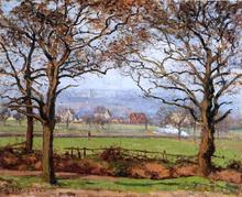 Near Sydenham Hill, Looking towards Lower Norwood - Camille Pissarro