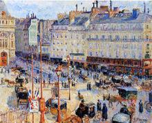Place du Havre, Paris - Camille Pissarro