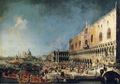 Arrival of the French Ambassador at the Doge's Palace