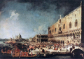 Arrival of the French Ambassador in Venice