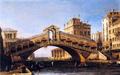 Capriccio of the Rialto Bridge with the Lagoon Beyond