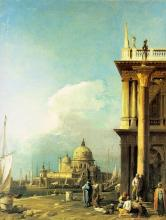 Entrance to the Grand Canal from the Piazzetta -  Canaletto