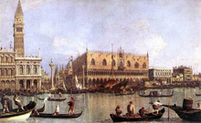 Palazzo Ducale and the Piazza di San Marco - Canaletto