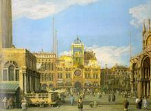 Piazza San Marco - Looking North -  Canaletto